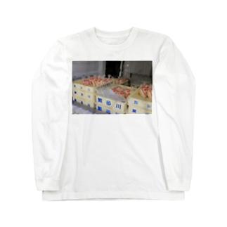 hantagawaboyのToFu Long sleeve T-shirts