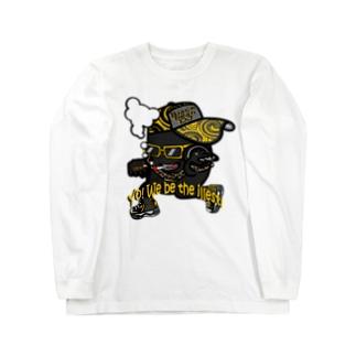 黒豆DJ Long sleeve T-shirts