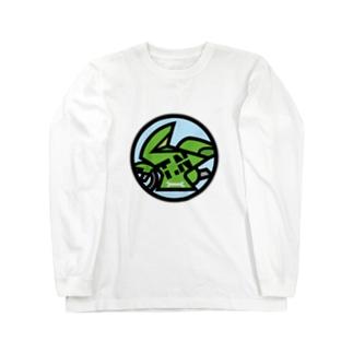 パ紋No.3140 T.N Long sleeve T-shirts