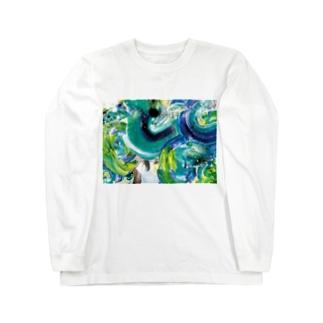 ぐるぐる Long sleeve T-shirts