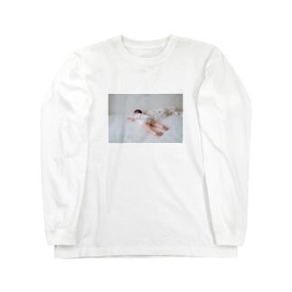 どこでもミルク Long sleeve T-shirts