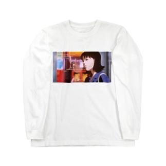 ろんりーなヒト Long sleeve T-shirts