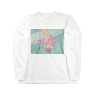 ぷかぷか Long sleeve T-shirts