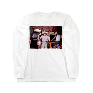 80sゲーセン Long sleeve T-shirts