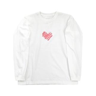 はあと。 Long sleeve T-shirts