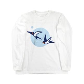 つばめ Long sleeve T-shirts