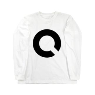 視力検査のアイツ(ランドルト環) Long sleeve T-shirts