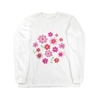 花の集い Long sleeve T-shirts