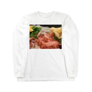 新鮮!静岡産桜エビ Long sleeve T-shirts