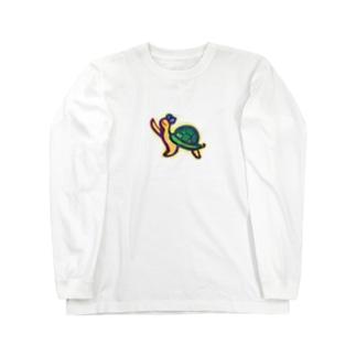 かめかめはっっ Long sleeve T-shirts