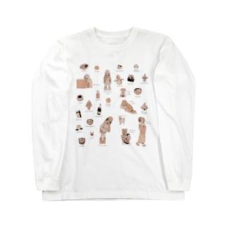 三日目東ね-23aのりんごくらぶのアラカルト冬 Long sleeve T-shirts