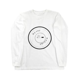 ヘビースモーカーマーク Long sleeve T-shirts