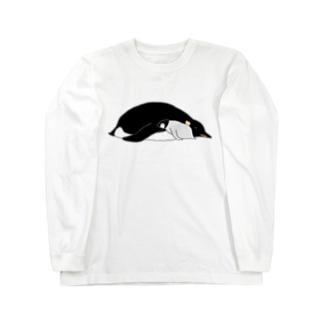 親子でスヤァ Long sleeve T-shirts