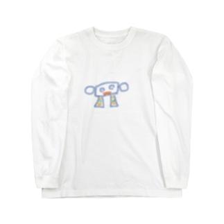 ロボ001 Long sleeve T-shirts