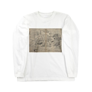 夢応の鯉魚L Long sleeve T-shirts