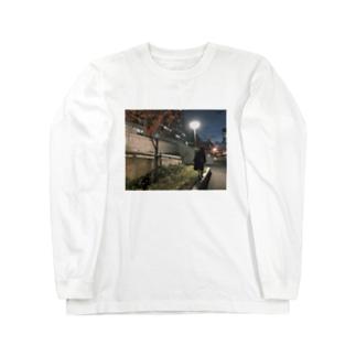 ステッカー Long sleeve T-shirts