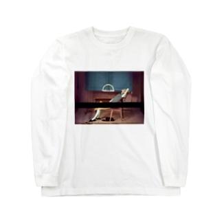 やる気なしマン Long sleeve T-shirts