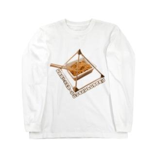 ピラミッドパワーでいつもおいしいやきそば Long sleeve T-shirts