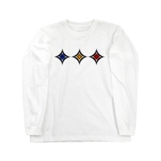 スクエア(3色) Long sleeve T-shirts