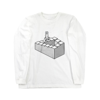 ケーキ屋さん ループ Long sleeve T-shirts