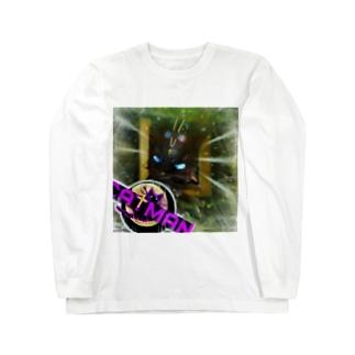 キャットマン Long sleeve T-shirts