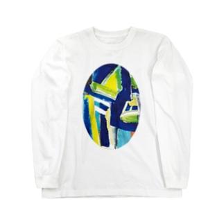 仮面 Long sleeve T-shirts