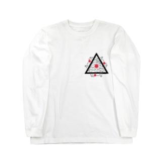 さんかくニッポン Long sleeve T-shirts