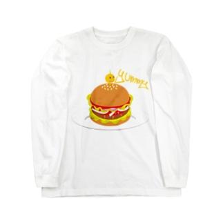 Hamburger Long sleeve T-shirts