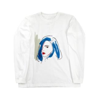 美女26 Long sleeve T-shirts