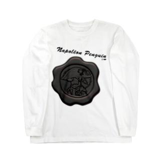 ナポペン【平等の灰】 Long sleeve T-shirts