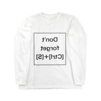 [Win]あまりにも忘れる人が多いから鏡を見て自分で思い出せSimple Long sleeve T-shirts