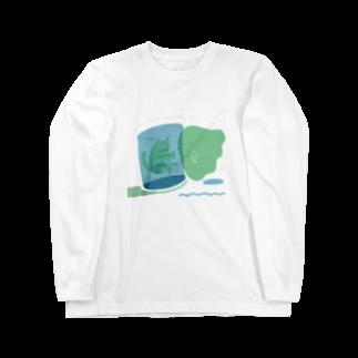いすやますみえのひんやりしたいとき Long sleeve T-shirts