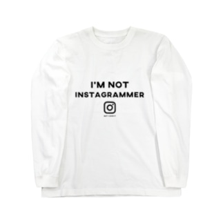 i'm not instagrammer Long sleeve T-shirts