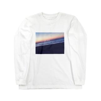 """""""今、ここ""""を生きろ Long sleeve T-shirts"""