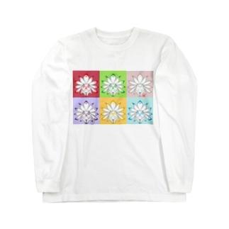 カラフルキュウビ Long sleeve T-shirts