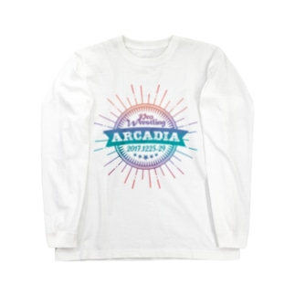 PRO WRESTLING ARCADIA Long sleeve T-shirts