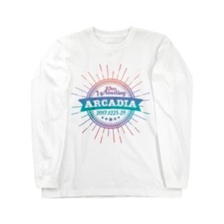 PRO WRESTLING ARCADIA Long sleeve T-shirts
