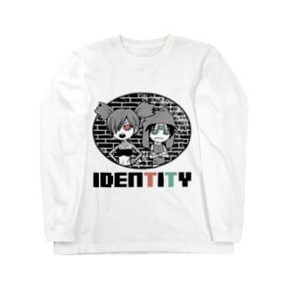 リロとタロ(IDENTITY) Long sleeve T-shirts