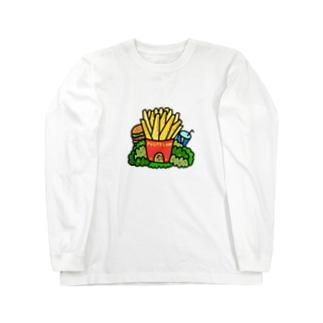ポテトハウス Long sleeve T-shirts