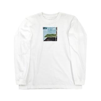青い部屋 Long sleeve T-shirts