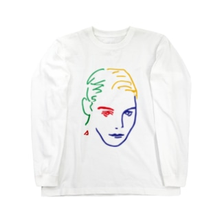 美女14 Long sleeve T-shirts