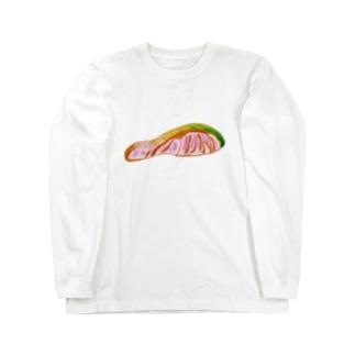 切り身 Long sleeve T-shirts