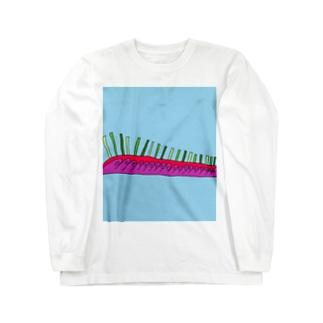 JUNSEN(純仙)天空の柵A Long sleeve T-shirts