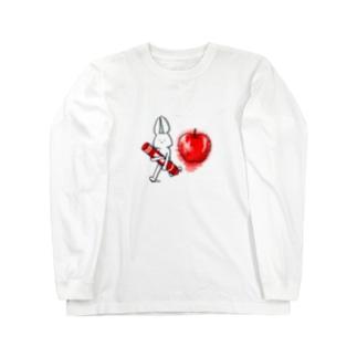 ケーキ屋さん 落書き withA Long sleeve T-shirts