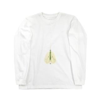 イオンのトイレで見つけた虫 Long sleeve T-shirts