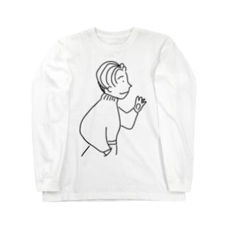 80年代風ニット系男子 Long sleeve T-shirts