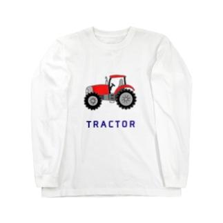 トラクター Long sleeve T-shirts