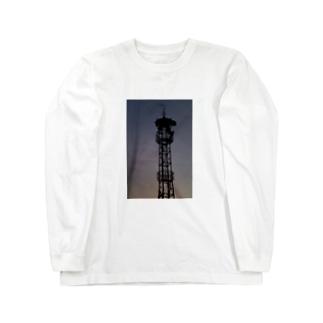火の見櫓 その6 Long sleeve T-shirts