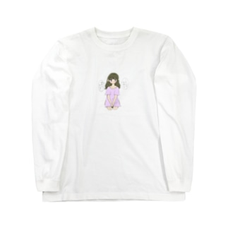 ゆすられちゃん Long sleeve T-shirts
