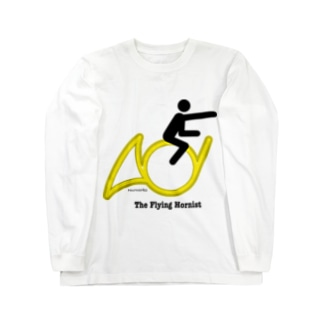 The Flying Hornist w/ Logo Long sleeve T-shirts